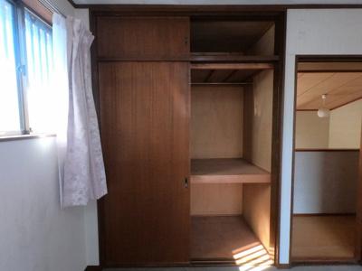 収納スペースも豊富に確保しています