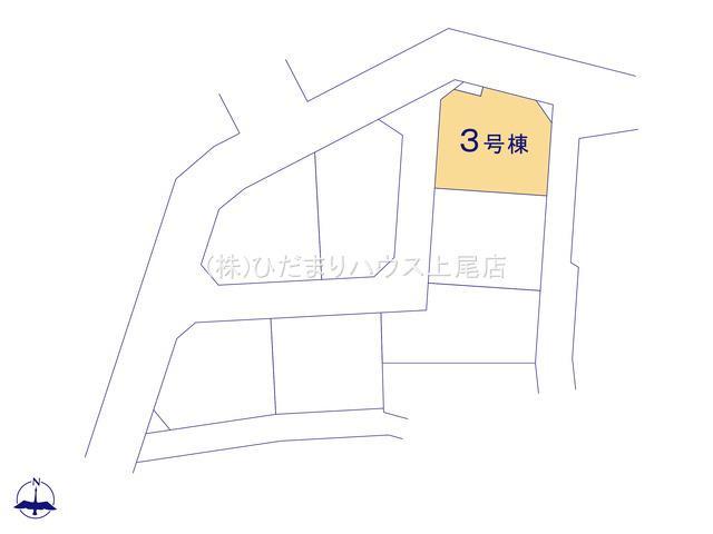【区画図】西区三橋6丁目 新築一戸建て グランドールの丘 03