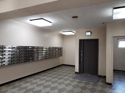 【エントランス】マンションニュー行徳第一 5階 リ ノベーション済 行徳駅5分