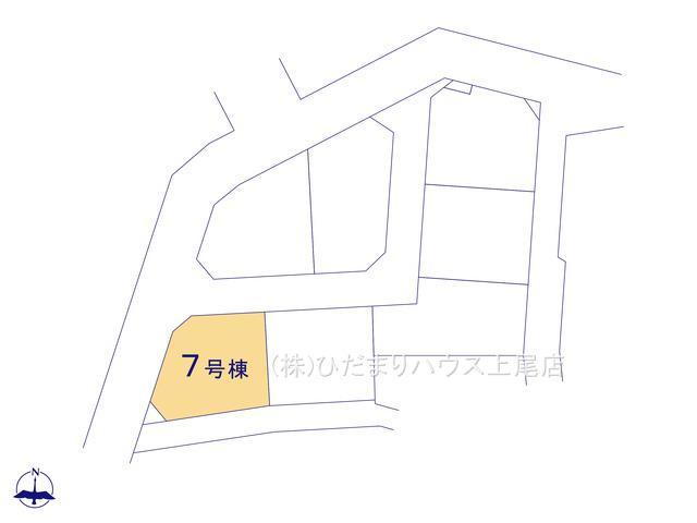 【区画図】西区三橋6丁目 新築一戸建て グランドールの丘 07
