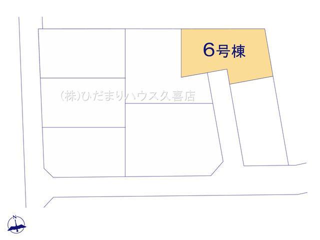 【区画図】古河市大手町 第3 新築一戸建て 06 クレイドルガーデン