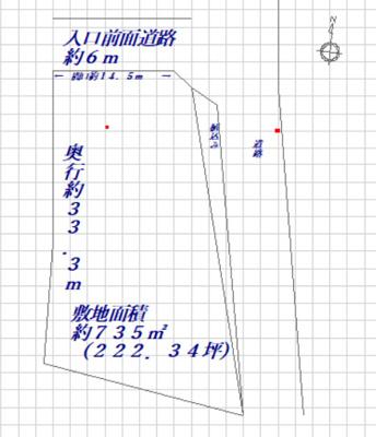 【外観】東園田1丁目 貸土地