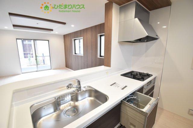 【キッチン】西区三橋6丁目 新築一戸建て グランドールの丘 02