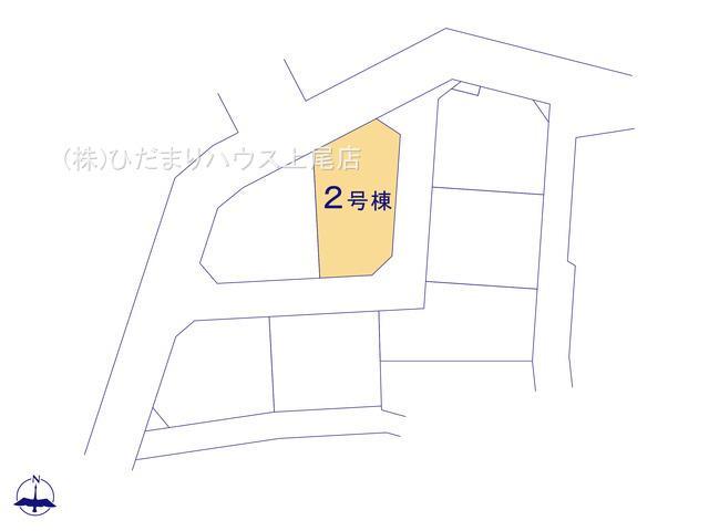 【区画図】西区三橋6丁目 新築一戸建て グランドールの丘 02