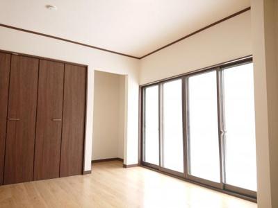 【居間・リビング】能代市字長崎・中古住宅 リフォーム済