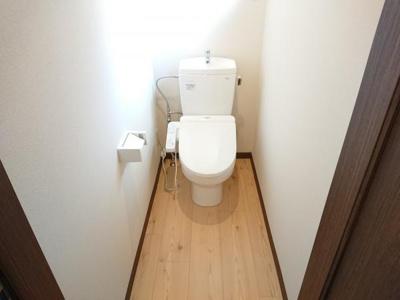 【トイレ】能代市字長崎・中古住宅 リフォーム済