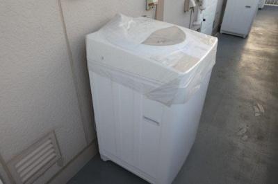 洗濯機置き場(洗濯機)