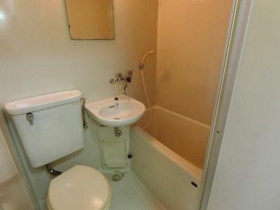 【浴室】ハイツリッチB棟