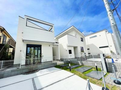 【外観】JR横浜線「町田」駅 新築一戸建 2号棟