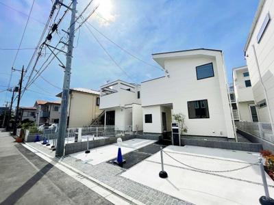 【前面道路含む現地写真】JR横浜線「町田」駅 新築一戸建 2号棟