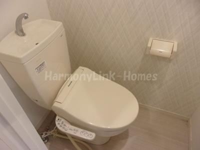 stage北新宿のゆったりとした空間のトイレです☆