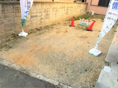 OsakaMetoro谷町線「喜連瓜破」駅より徒歩9分 現況更地
