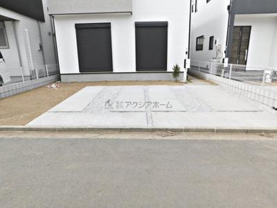 【駐車場】狭山市富士見2丁目・全2棟 1号棟 ~駐車並列3台可能~
