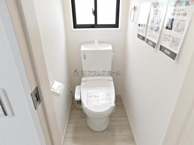 【トイレ】狭山市富士見2丁目・全2棟 1号棟 ~駐車並列3台可能~
