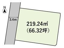 土地 玉島乙島 66.32坪 の画像