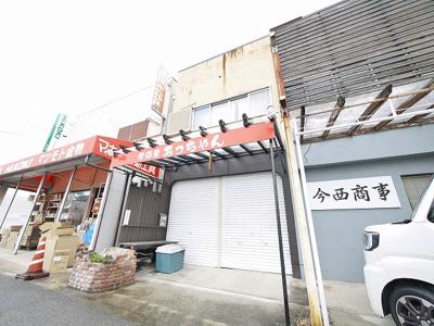 【外観】西田店舗付住居