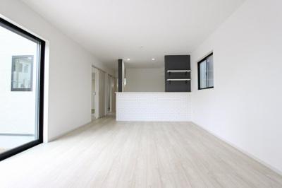 使いやすいリビングです:建物完成しました♪毎週末オープンハウス開催♪三郷新築ナビで検索♪