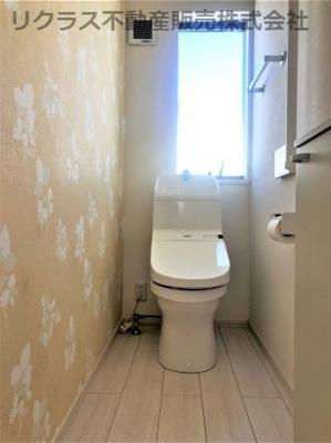 2階トイレです