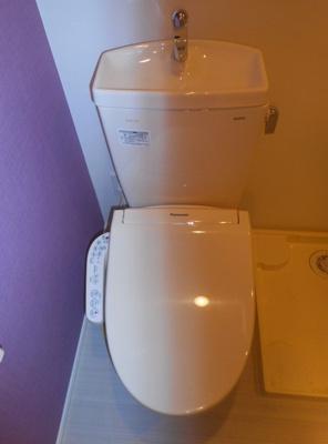 ハーモニーテラス柴又Ⅲのトイレ