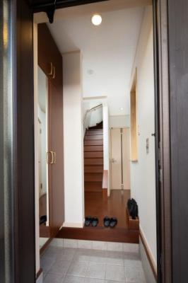 【玄関】Connect inn 伏見稲荷 ゲストハウス