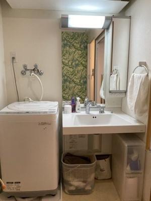 【独立洗面台】賀陽コーポラス3階