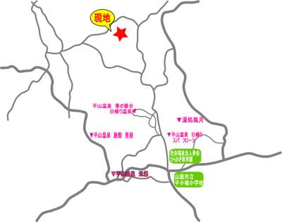 【外観】E004山鹿市平山(寛ぎの郷 平山温泉別荘地)