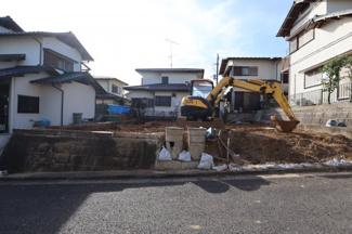 人気の日吉台エリアに新築が建ちます
