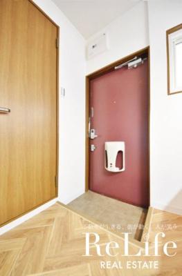 ★玄関、室内側からの写真★