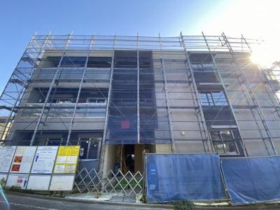 ※施工中※積水ハウス施工の賃貸住宅シャーメゾン♪2021年3月完成予定の閑静な住宅地にある新築3階建てマンション♪