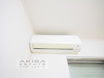 冷暖房エアコン!