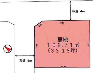敷地109.71㎡(33.18坪)