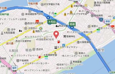 【地図】メルベージュ姫島