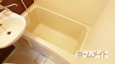 【浴室】クローバーMオザキB棟