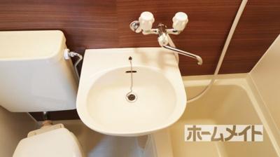 【洗面所】クローバーMオザキB棟