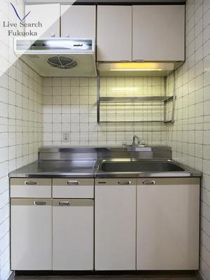 【キッチン】ライオンズマンションステーションプラザ博多