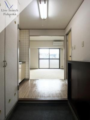 【玄関】ライオンズマンションステーションプラザ博多