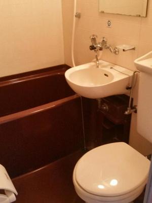 【浴室】朝日プラザ博多