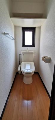 トイレも広めでゆったり使えます