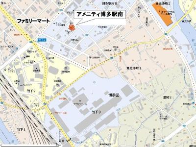 【区画図】アメニティ博多駅南