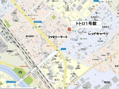 【区画図】トトロ1号館