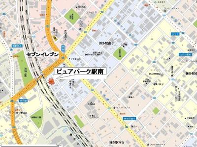 【区画図】ピュアパーク駅南