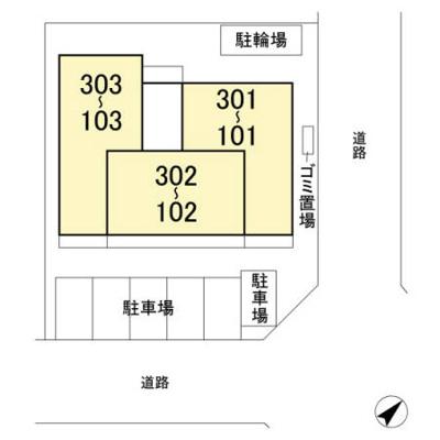 【区画図】リースフォート