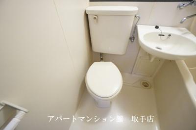 【トイレ】コーポ取手