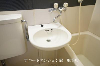 【洗面所】コーポ取手