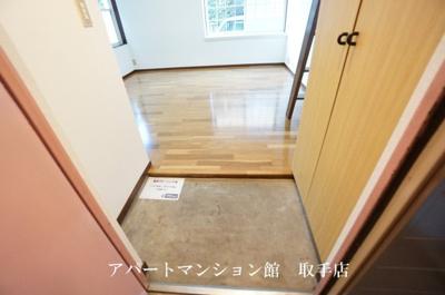 【玄関】コーポ取手