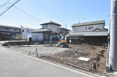 【外観】鴻巣市富士見町 建築条件付き売地
