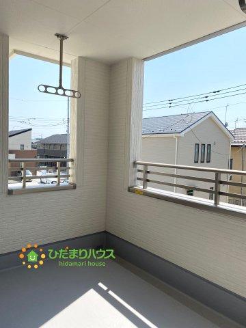 【バルコニー】古河市静町 第2 新築一戸建て 01 リーブルガーデン
