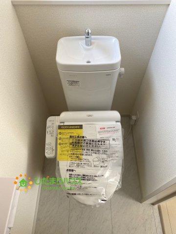 【トイレ】古河市静町 第2 新築一戸建て 01 リーブルガーデン