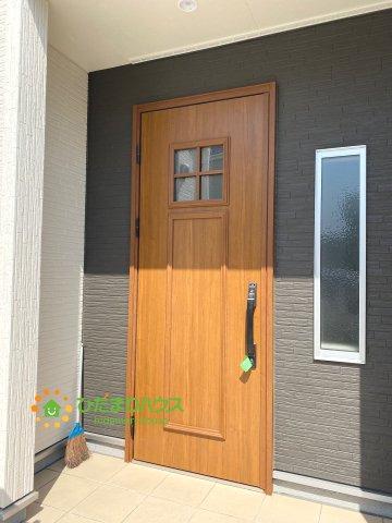 【玄関】古河市静町 第2 新築一戸建て 01 リーブルガーデン
