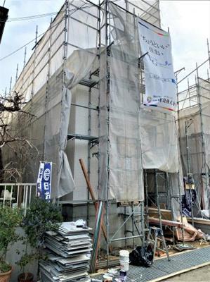 【外観】池田市渋谷1丁目 新築戸建 1号棟